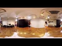 360 Degree hot dancer video